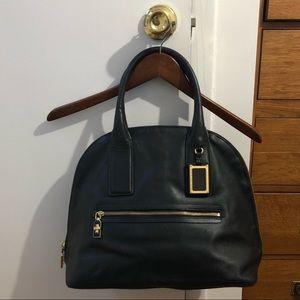 Marc Jacobs Bag purse leather black gold zipper